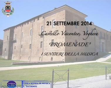 """""""Promenade"""" – I sentieri della musica"""