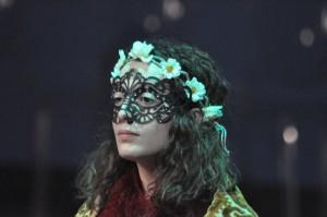 """Sara come Titania in """"Sogno di una Notte di Mezza Estate"""" (2015, Fondazione Teatro Fraschini)"""