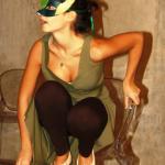 """Claudia come Puck in """"Sogno di una notte di Mezza Estate"""" (2015, Fondazione Teatro Fraschini)"""
